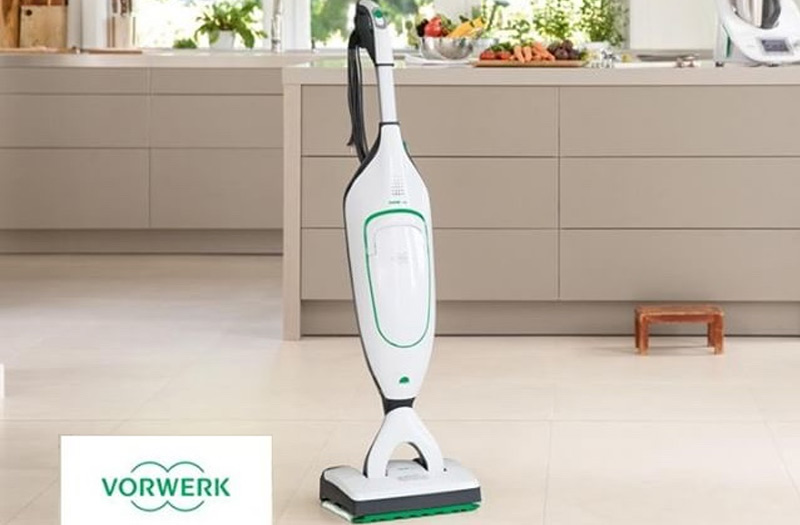 Save time cleaning your hard floors with the SP600 from Vorwerk