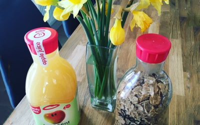 Upcycle your Juice Plastic Bottles to Cereal Containers….