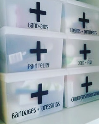 The Medicine Box storage containers