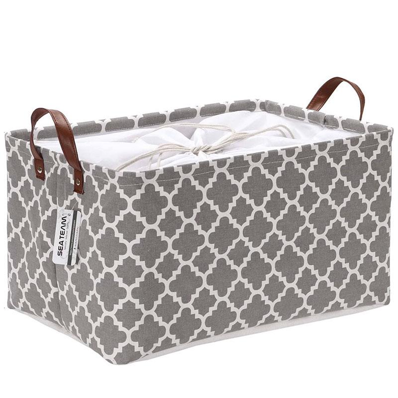 basket for decluttering homes
