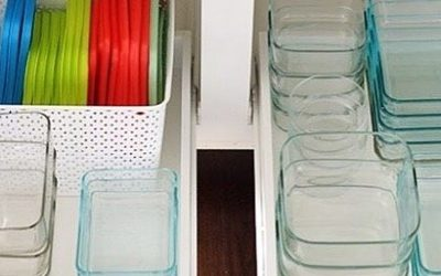 Day 7: Declutter Tupperware