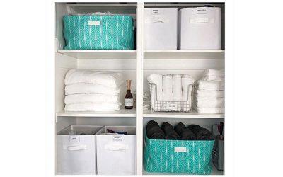 Linen cupboard organisation