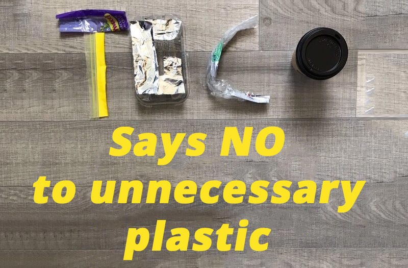 Say NO to unnecessary plastic packaging in our supermarkets.