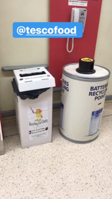 recycling in our supermarket